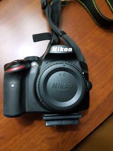 Nikon D3200 Body - Mint Condition