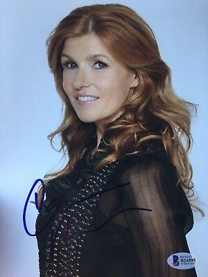 Connie Britton Signed Color 8X10 Photo Bcoa Nashville Abc