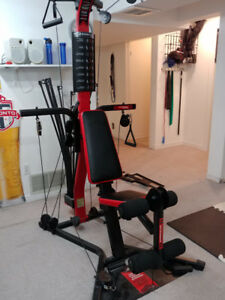 Bowflex machine for home gym