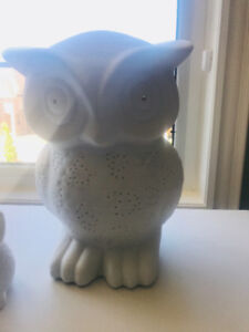 Owl decor/lamp