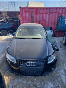 AUDI A4 S LINE 2008 FOR PARTS ONLY