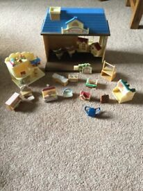 Sylvanian family toy shop