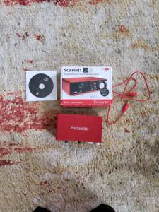 Focusrite Scarlet 2i2 Audio Interface
