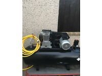 SIP 150 litre belt driven compressor