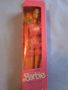 1987 Fun-T0-Dress Barbie doll