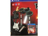 Ps4 Rockband in a Box - New and sealed