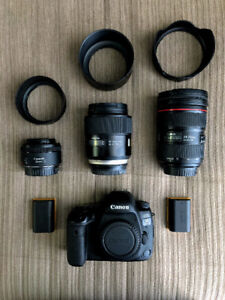 SELL ALL CANON 5D MARK IV + LENSES + FLASH