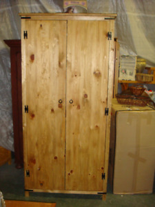 Custom made rustic furniture Wardrobe, dresser, tables, mirrors.