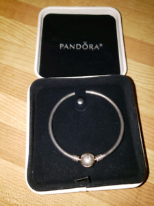 "Small(7"") Pandora and chamilla bracelets"