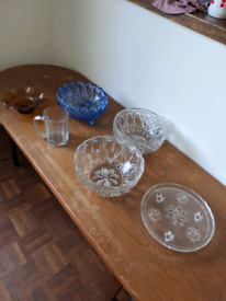 Selection of glass wear