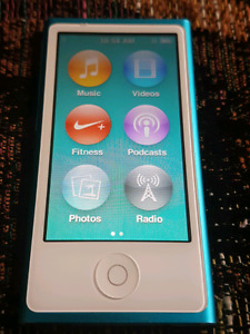 16 gig 7th gen ipod nano touch with the Bluetooth!