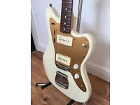 Fender Jazzmaster - Japanese - White/Gold - 2004-05 - Very rare - delivery available!