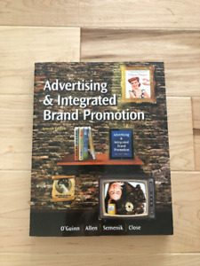 Advertising and Integrated Brand Promotion, Textbook
