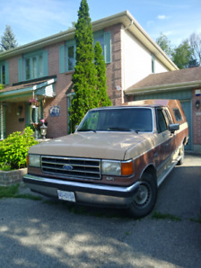 1990 Ford F150 with Canopy and Camper