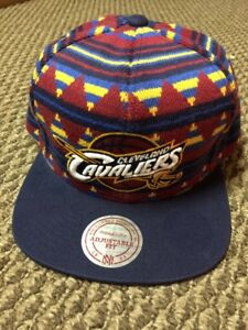 Cleveland Cavs snap back hat- brand new- Mitchell & Ness
