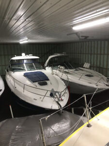 Heated indoor storage boats and cars