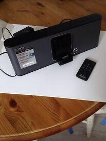 Sony iPod docking station