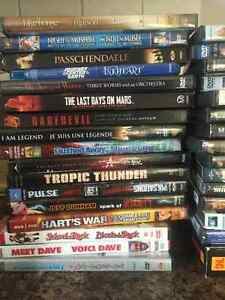 30 plus DVDs for sale