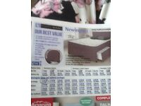 Divan set new from argos 2 single bed