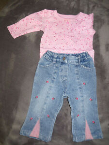 girls size 3-6 months 31 pieces of clothing page one Stratford Kitchener Area image 3