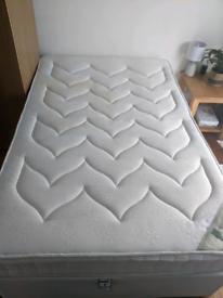 Small Double Divan Bed (Frame + Mattress) (4ft)