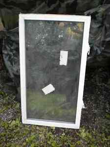 6 INDIVIDUAL ARGON GAS FILLED WINDOW INSERTS
