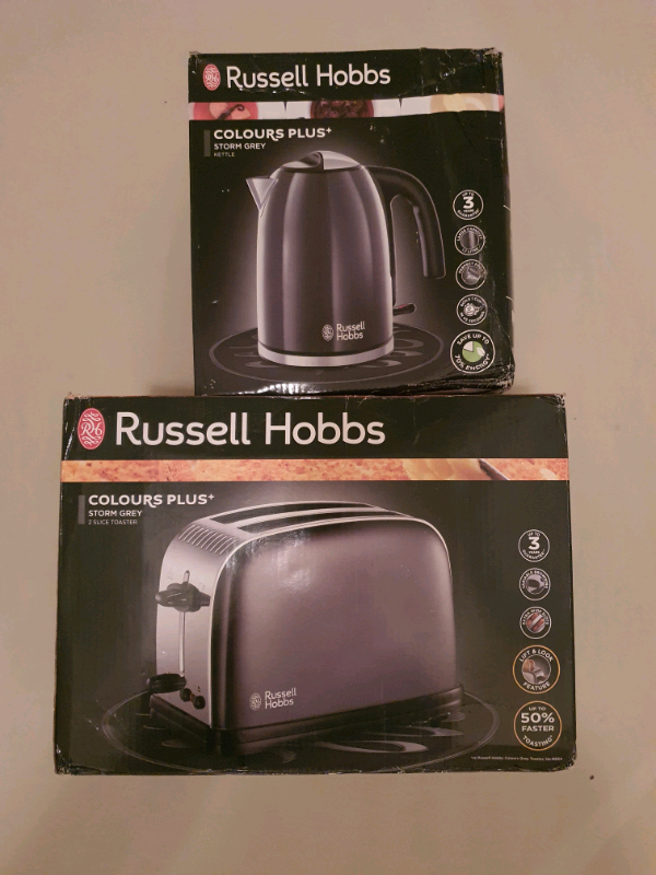 Russell Hobbs Colours Plus Storm Grey 2