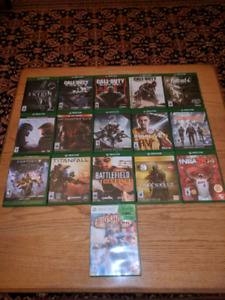 Assorted Xbox One Games (Make an offer)