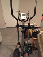 Barely used 2 year old elliptical