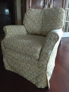 Arm chairs, pair great seat comfort