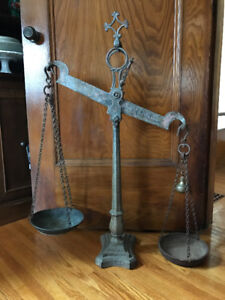 Mid 1800's Whitfield & Wilson Antique Scale