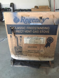 New in the Crate Regency natural gas stove for sale