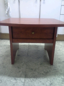 Nice piece of furniture solid wood end table $35