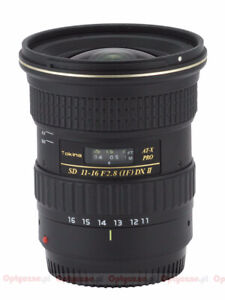 Tokina 11-16mm F2.8 for canon DSLR
