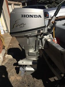 Honda 15 hp outboard sell or trade for 25-40hp
