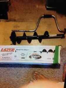 Six inch lazer ice auger brand new