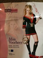 Miss voorhees costume. Woman's size small