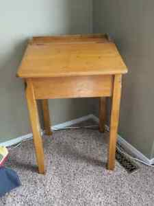 Antique Wood Desk London Ontario image 1