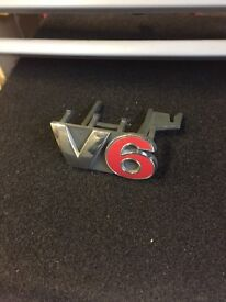 VW Golf Mk4 V6 Badge / Grille