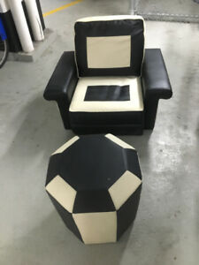 Lazy Boy Chair and Ottoman