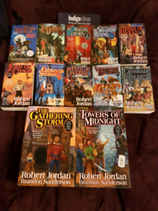 Books for sale!! (The Wheel of Time Series)