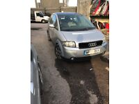 Audi A2 1.4 tdi ( breaking full vehicle for parts )