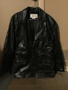 Various Clothing items *vintage* leather jackets, scarf, gloves