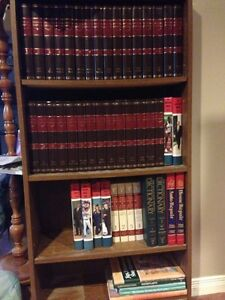 Full set of encyclopedias and dictionary