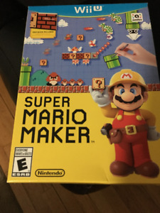 Super Mario Maker - WiiU