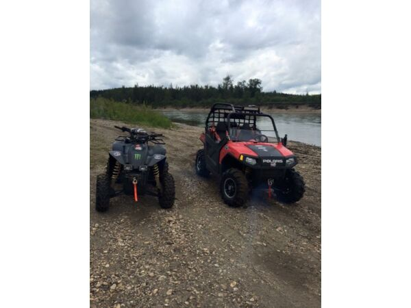 Used 2008 Polaris ranger/rzr