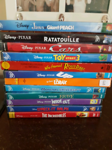 24 movies, mostly Disney