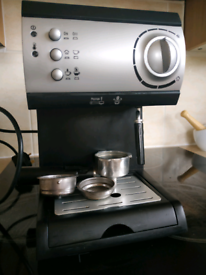 Espresso Coffee Maker with Milk Frother