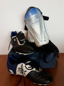 Women's Soccer Cleats and Shin Guards