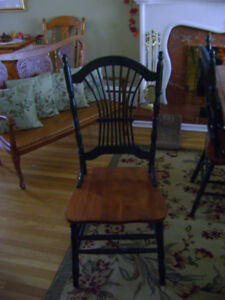 Wanted Two Sheaf Back Side Chairs